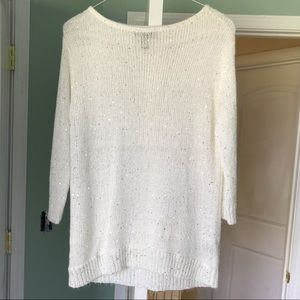 Kenneth Cole Sequin Sweater